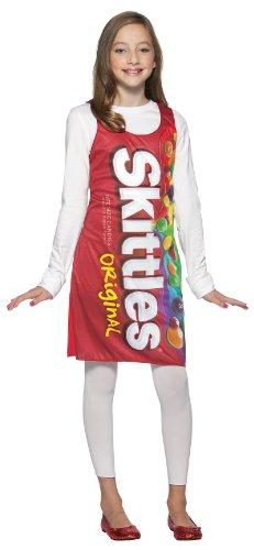 Rasta Imposta Skittles Tank Dress, Red, Teen 13-16