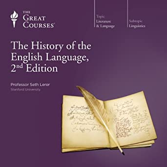 cover of The History of the English Language by Seth Lerer