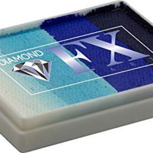 Diamond FX 50g Split Cake Face Paint ~ Captain Obvious (RS50-10) 41BGAiiPVxL