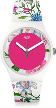 Swatch Women's Analogue Quartz Watch with Plastic Bracelet - SUOW127
