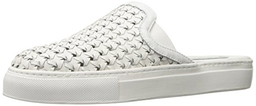 41BWL3KleqL The Bracker's fun details makes this slip-on a cut above the rest! Woven leather upper. Slip-on style.