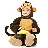 Spooktacular Creations Baby Monkey Costume Deluxe Set (18-24 Months) Brown