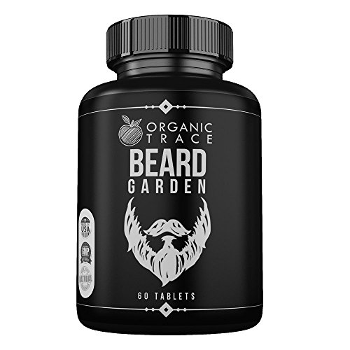 Beard Garden- The Ultimate Beard, Hair and Mustache Supplement. All-Natural Ingredients That Work! Quickly and Naturally Grow A Thicker, Fuller Beard and Mustache. The BEST Beard Vitamin Supplement.