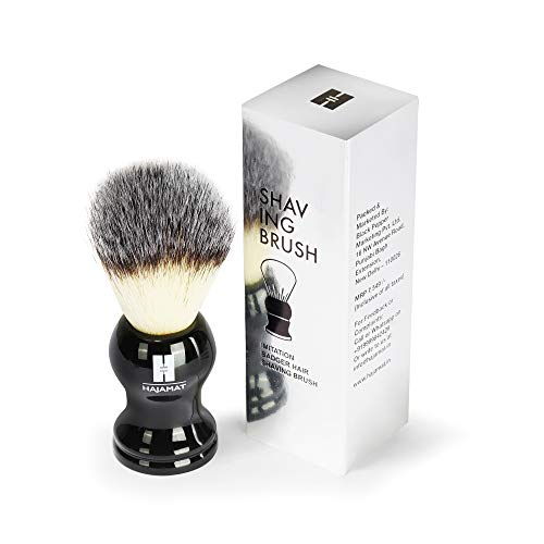 HAJAMAT Men's Shaving Brush (Black) 19