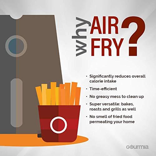 Gourmia GAF678 7-Qt All-in-One Digital Free Fry Air Fryer