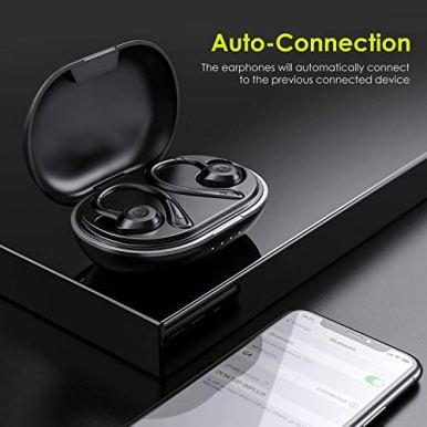 HolyHigh-Ecouteurs-Bluetooth-Oreillette-Bluetooth-sans-Fil-Casque-pour-Sport-Etanche-IPX7-80H-Autonomie-Auto-ConnexionCouplage-Anti-Bruit-Micro-Integre