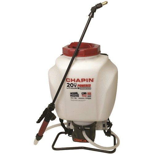 Chapin 63985 4-Gallon Wide Mouth 20v Battery Backpack Sprayer