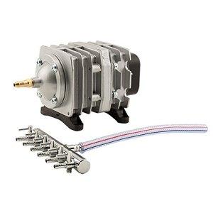 EcoPlus 728450 Eco Air1 Commercial Air Pump 1-18 Watt Single Outlet, 6 Valve Manifold For Aquarium, Fish Tank, Fountain… 41Bx9RALXxL