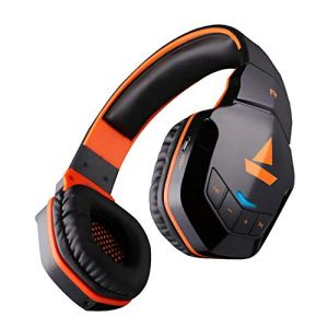 boAt Rockerz 510 Bluetooth Headphone with Thumping Bass, Up to 10H Playtime, Dual Connectivity Modes, Easy Access Controls and Ergonomic Design (Molten Orange)