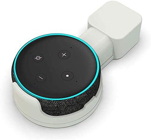 41C lsGQdkL. AC  - Wigoo Soporte de Montaje en Pared Outlet para Dot 3rd Generation, gestión de Cables incorporada, una solución Que Ahorra Espacio para Sus asistentes de Voz, Oculta los Cables Dot #Amazon