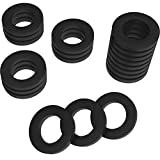 Hotop 20 Pack Garden Shower Hose Washers Rubber Washers Seals for Standard 3/4 inch Garden Hose and Shower Hose