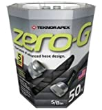 Zero-G 5/8' x 50' Lightweight, Heavy Duty, Kink Resistant Garden Hose