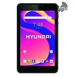 Hyundai-Koral-7XL-Tablet-11GHz-Quad-Core-7-IPS-Touchscreen-2GB-Ram-16GB-Storage-Dual-Camera-Android-81-Oreo-4GLTE-Metal-Case-Google-Certified-Black