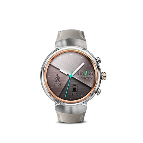 ASUS WI503Q-SL-BG ZenWatch 3 1.39-Inch Amoled Smart Watch with Beige Leather Strap