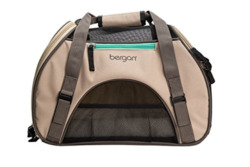 Bergan Comfort Carrier for Pets, Taupe, Small 16'L x 8'W x 11'H