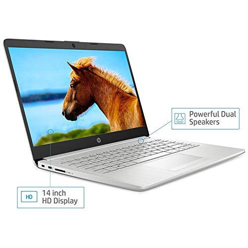 "41CDtbCso L HP 14 10th Gen Intel Core i3 Processor 14"" (35.56cms) FHD Laptop computer (4GB/1TB HDD/Home windows 10 House/MS Workplace/Pure Silver/1.47Kg), 14s-cf3006tu"