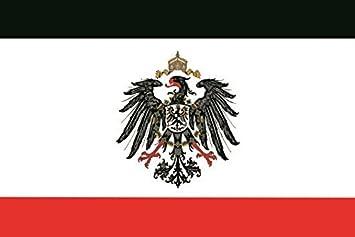 U24 Fahne Flagge Kaiserreich Mit Adler Reichsadler Deutsches Reich 90 X 150 Cm