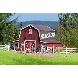 PIKO G SCALE MODEL TRAIN BUILDINGS – AMERICAN BARN – 62110 41CEUfKCCpL