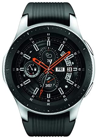 Samsung Galaxy Watch smartwatch (46mm, GPS, Bluetooth) – Silver/Black (US Version with Warranty) 3