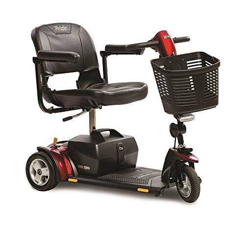 Pride Go-Go Elite Traveller 3-Wheel Scooter 12 Ah Battery