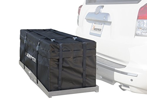 Keeper 07208 Black Waterproof Hitch Rack Bag (11 Cubic Feet)