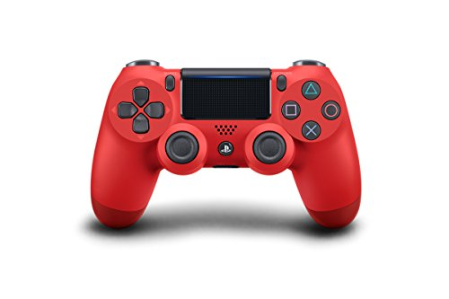 Sony DualShock 4 Wireless Controller for PlayStation 4 – Magma Red Two Tone (CUH-ZCT2U) top rated Playstation