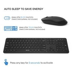 Wireless-Keyboard-and-Mouse-Jelly-Comb-24GHz-Ultra-Thin-Full-Size-Wireless-Keyboard-Mouse-Combo-Set-with-Number-Pad-for-Computer-Laptop-PC-Desktop-Notebook-Windows-7-8-10-Black