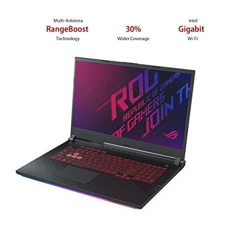"ASUS ROG Strix G G731GT-H7158T 17.3"" FHD 120Hz Gaming Laptop GTX 1650 4GB Graphics (Core i7-9750H 9th Gen/16GB RAM/1TB NVMe SSD/Windows 10/One-Zone RGB KB/2.85 Kg), Black 11"