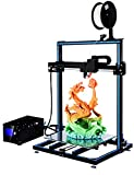 ADIMLab Gantry 3D Printer 90% Assembled I3 3D Printing Size 310X310X410 with 24V Power Heat Bed Glass Control Box Filament Detector Light on Head and Supply Auto Leveling Method Method