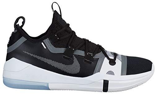 Nike Men's Kobe AD Basketball Shoe (10 D US) Black/Black-White