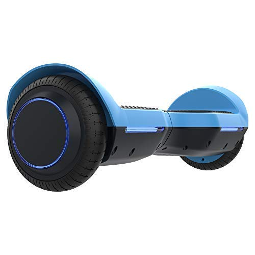 GOTRAX SRX Hoverboard - UL2272 Self Balancing Hover Board w/Bluetooth Speakers (Blue)