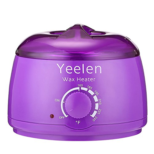 Yeelen Hair Removal Hot Wax Warmer Stylish Electric Hair Removal 14 oz Hard Wax Beans Heater Portable Electric Beans Melting Pot