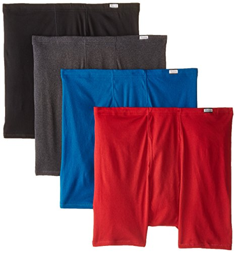 Hanes Men's 4-Pack Comfortsoft Extended Sizes Boxer Briefs, Assorted, 3X-Large