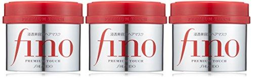 Shiseido Fino Premium Touch penetration Essence Hair Mask Hair Treatment 230g 'three-piece set.' *AF27*