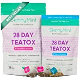 SkinnyMint 28 Day Ultimate Teatox, Herbal Weight Loss Tea - Natural Weight Loss, Body Cleanse and Appetite Control. Proven Weight Loss Formula