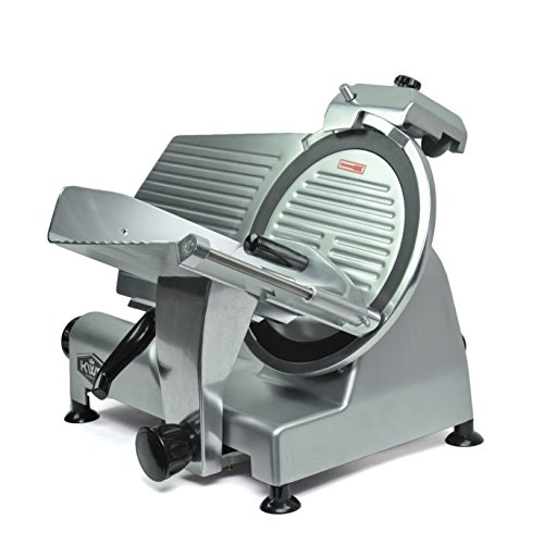 KWS-MS-12NT-Premium-Commercial-420w-Electric-Meat-Slicer-12-Inch-Non-sticky-Teflon-Blade-Frozen-MeatCheeseFood-Slicer-Low-Noises-Commercial-and-Home-Use