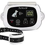 Wireless Dog Fence System Outdoor Invisible Pet Containment System Rechargeable Waterproof Collar(1 Dog System)