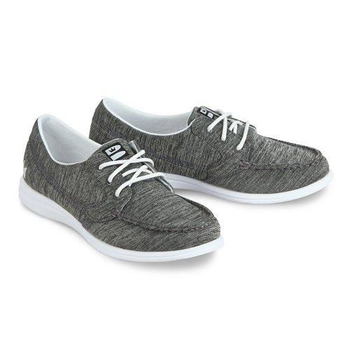 Brunswick Ladies Karma Bowling Shoes- Grey/White, 7