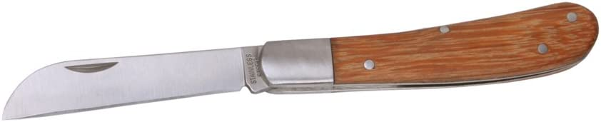 Wonderland Gardener Knife Brown and Silver 9.5 X 3 X 1 (in inches)