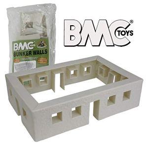 BMC WW2 Bunker Walls – Plastic Army Men Playset Accessory 41DDbApeDwL
