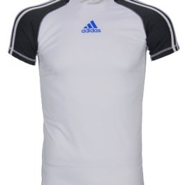 adidas Big Boys Athletic Performance Climalite 3-Stripe Short Sleeve T-Shirt