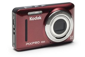 Kodak-PIXPRO-Friendly-Zoom-FZ53-RD-16MP-Digital-Camera-with-5X-Optical-Zoom-and-27-LCD-Screen-Red