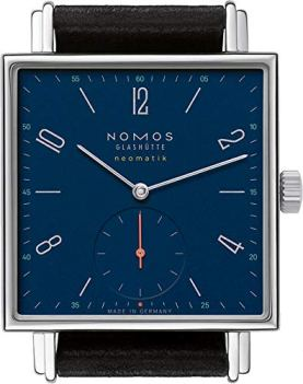 Nomos Tetra Neomatik Automatic Midnight Blue Dial Watch 422