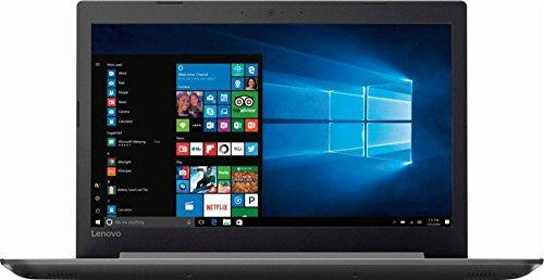 2017 Lenovo 320 15.6 Inch High Performance Laptop (AMD A12 up to 3.6 GHz, 8GB RAM, 128GB SSD, AMD Radeon R7, WiFi, Bluetooth, Webcam, USB-C, DVD-RW, Windows 10 Home) Silver (Renewed)