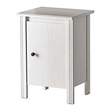 Ikea Brusali Table De Nuit Blanc 44x36 Cm Amazonfr