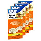 Terro 3200 Spider Traps 4 in a package, (Pack of 4, 16 Traps Total)