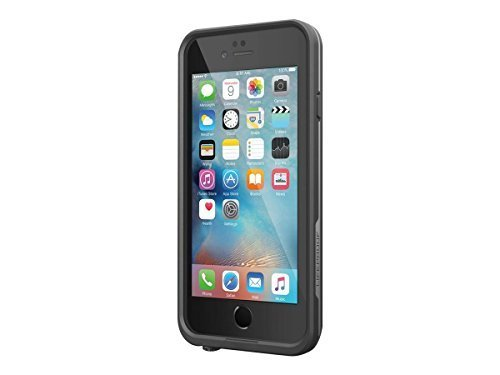 Lifeproof FRE Waterproof Case for iPhone 6/6s (4.7-Inch Version)- Black (Renewed)