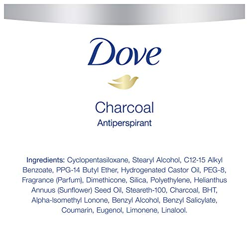 Dove Men+Care Antiperspirant Deodorant Stick Tough on Sweat, Not on Skin Charcoal 48 Hour Sweat and Odor Protection 2.7 oz 4 Count 4