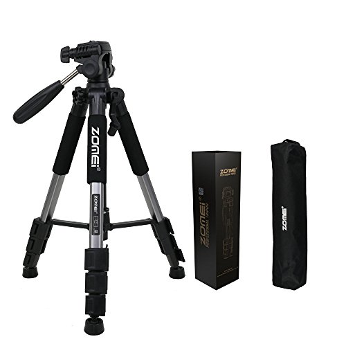 Zomei Portable Aluminium Tripod with Ball Head Pocket Travel for DSLR Camera