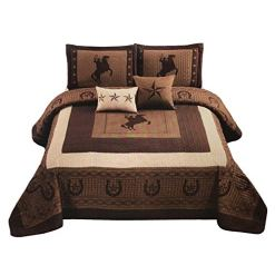 Western Collection Cowboy Comforter Set